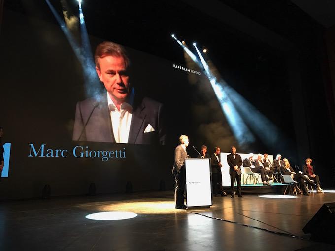L'entreprise de construction Giorgetti en haut de l'affiche !