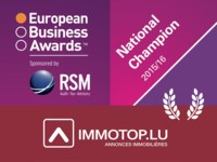 IMMOTOP.LU lauréat national des European Business Awards