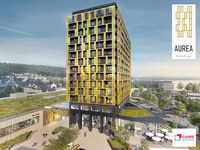 Aurea, the first residential tower of DIFFERDANGE