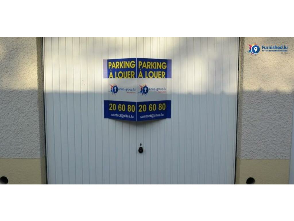Garage for rent in howald luxembourg ref. qvgm immotop.lu