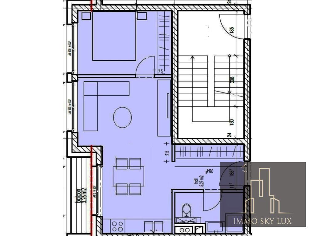 Appartement A Louer Schifflange