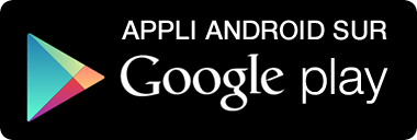 Appli Android sur Google Play