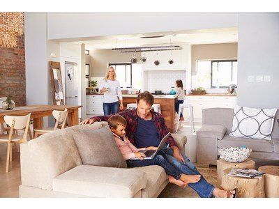 Family life: fitting out an adapted interior